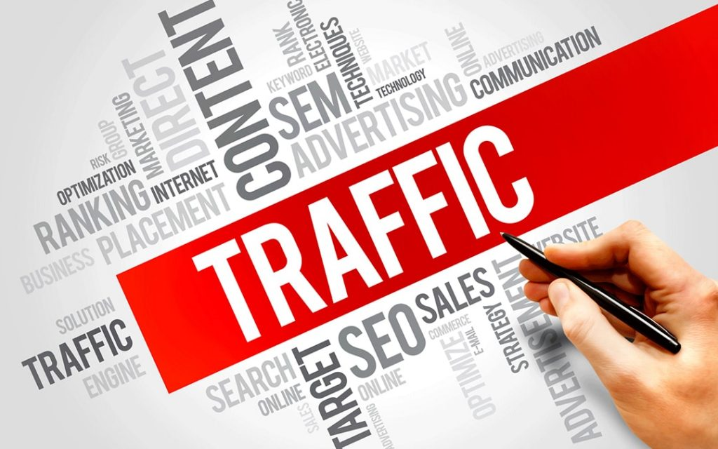 trafic de votre site web